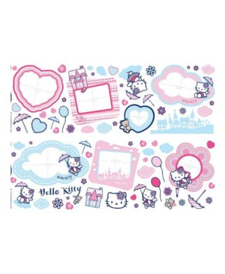 Hello Kitty - 67 stickers muraux cadres photos