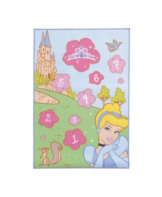 "Grand tapis Princesses Disney ""Marelle"" - 120 x 80 cm"