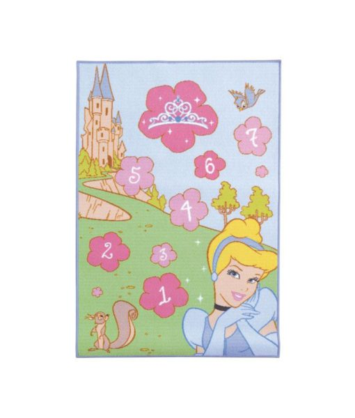 "Grand tapis Princesses Disney ""Marelle"" - 120 x 80 cm"