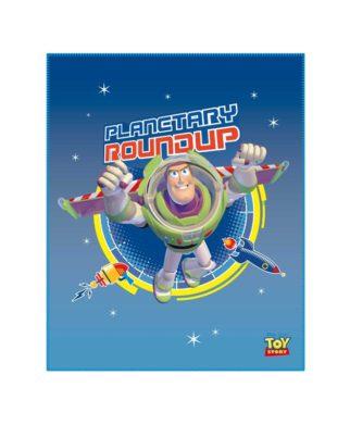 """Plaid Toy Story """"Explorer"""" - Couverture 110x140 cm"""