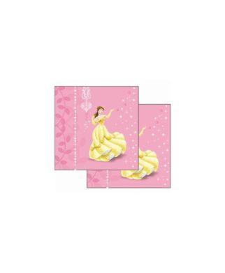 """Princesses Disney - Coussin imprimé """"Medaillon"""" 40 x 40 cm"""