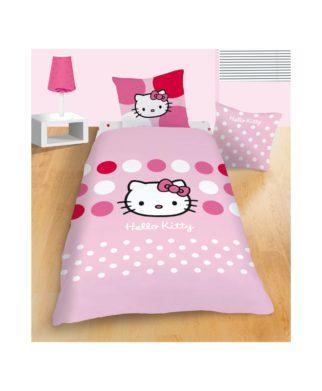 """Parure de lit Hello Kitty """"Sophie"""" 140x200 cm"""
