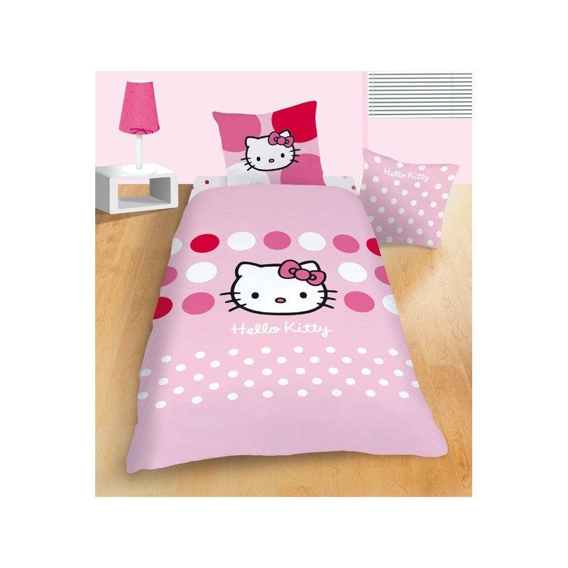 couvre lit hello kitty Hello Kitty – Parure de lit, Housse de Couette Enfant, Décoration  couvre lit hello kitty