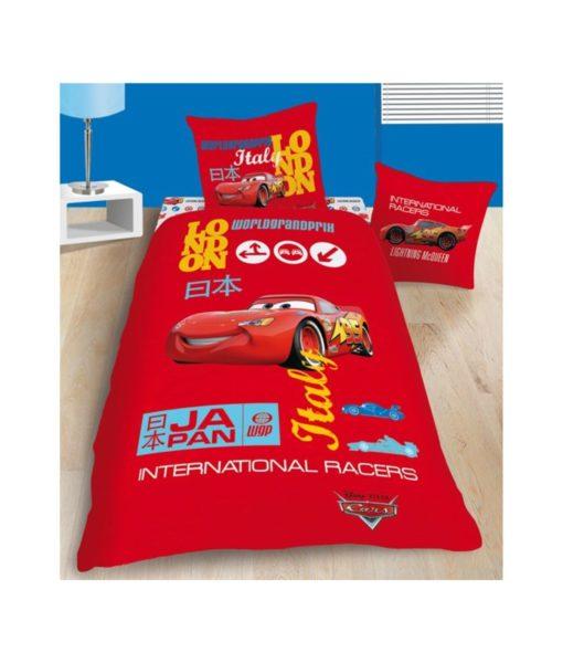 """Parure de lit Disney Cars """"Grand Prix"""" - 140x200 cm"""