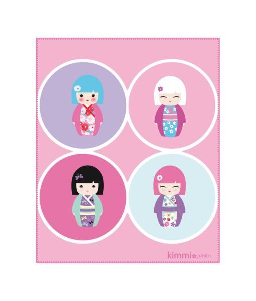 "Plaid Kimmi Junior ""Confettis"" - Couverture 110x140 cm"
