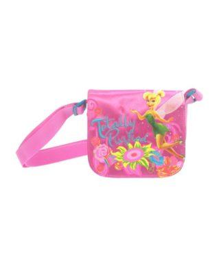 Petit sac à bandoulière Fée Clochette rose