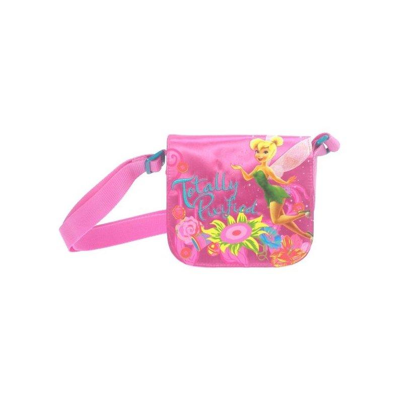 Messenger bag f e clochette sac disney fairies rose - Literie fee clochette ...