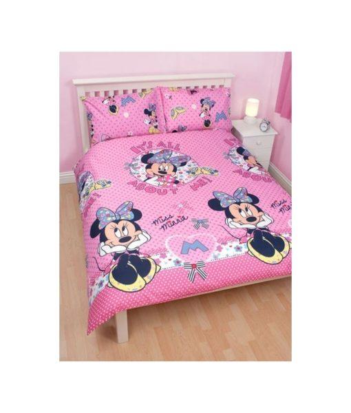 """Parure de lit Minnie """"Shopaholic"""" 2 personnes - 200x200 cm"""
