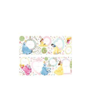 Princesses Disney - 75 stickers cadres