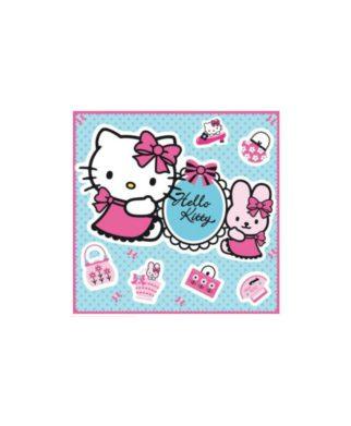 Décorations murales en relief Hello Kitty