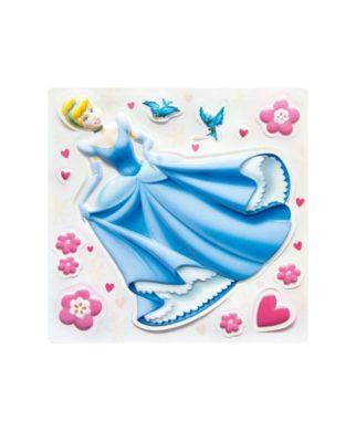 Décorations murales Princesses Disney en relief