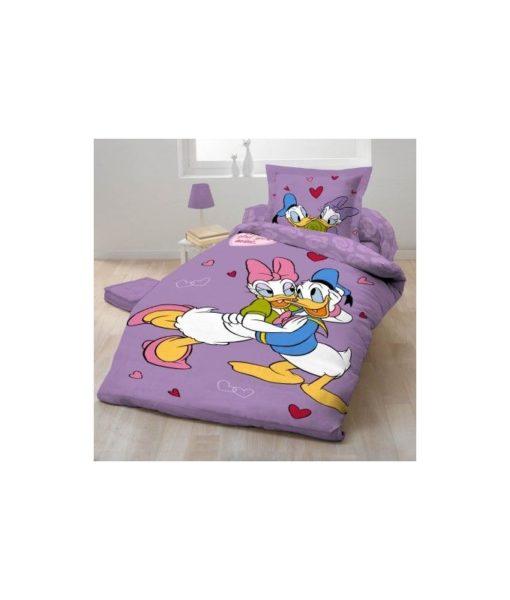 Parure de lit Donald & Daisy - 1 personne 140x200 cm
