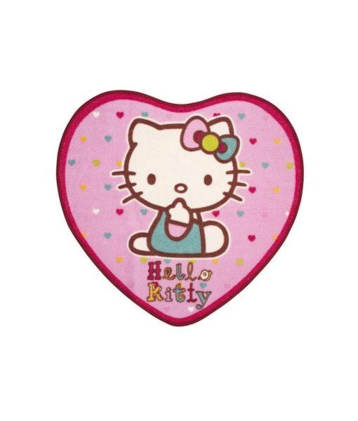 """Tapis de sol Hello Kitty """"Folk"""" - 76x73 cm"""