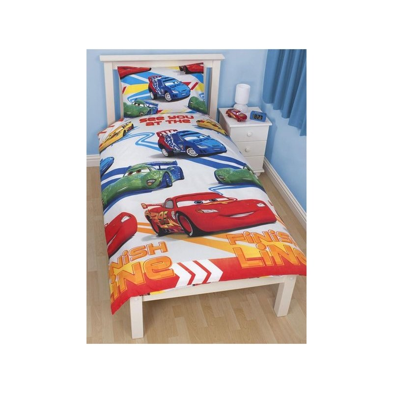 couette disney cars 1 personne 140x200 voitures. Black Bedroom Furniture Sets. Home Design Ideas