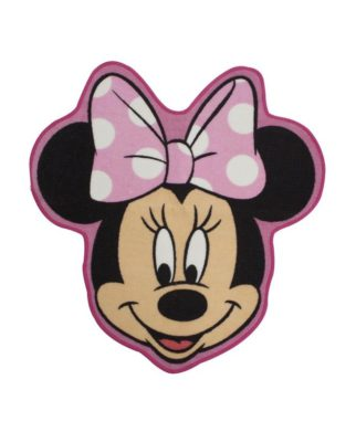 "Tapis de sol Minnie Mouse ""Makeover"" 72x76 cm"