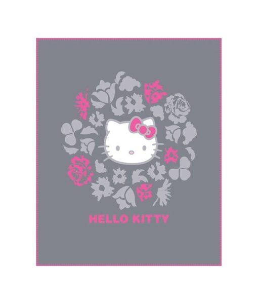 "Plaid polaire Hello Kitty ""Rosa"" - 110 x 140 cm"