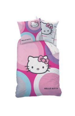 "Parure de lit Hello Kitty ""Selena"" 1 personne 140x200 cm"