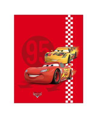 """Plaid Cars """"Red Tire"""" - Couverture 110x140 cm"""