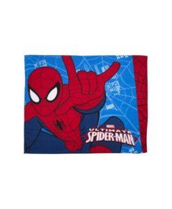 """Couverture polaire Spiderman """"Ultimate City"""" 125x150 cm"""