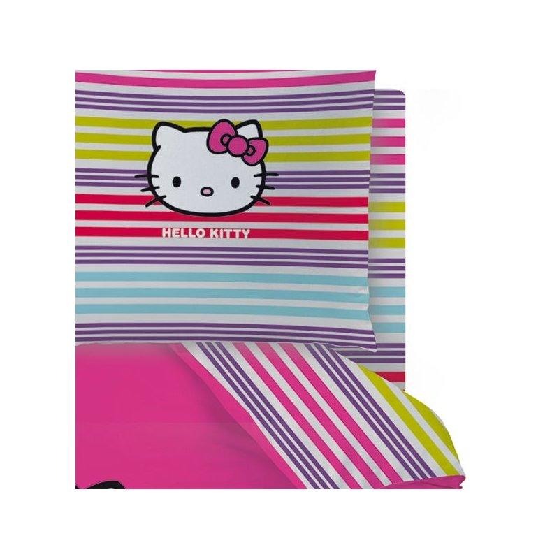 Drap hello kitty sarah summer lit 2 personnes - Drap housse 70x140 hello kitty ...