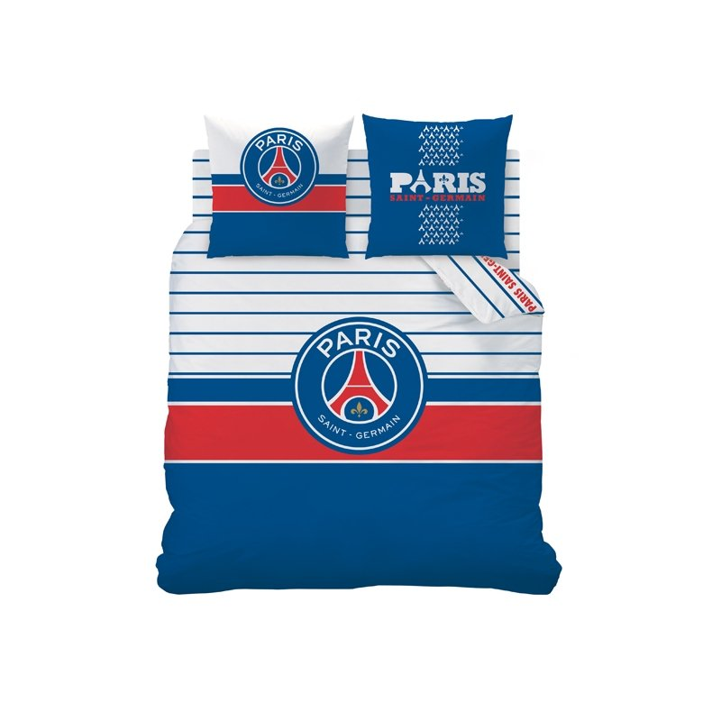 Couette psg 2 personnes 200x200 240x220 100 coton for Decoration murale juventus