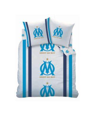Parure de lit 2 personnes Olympique de Marseille 240x220 cm