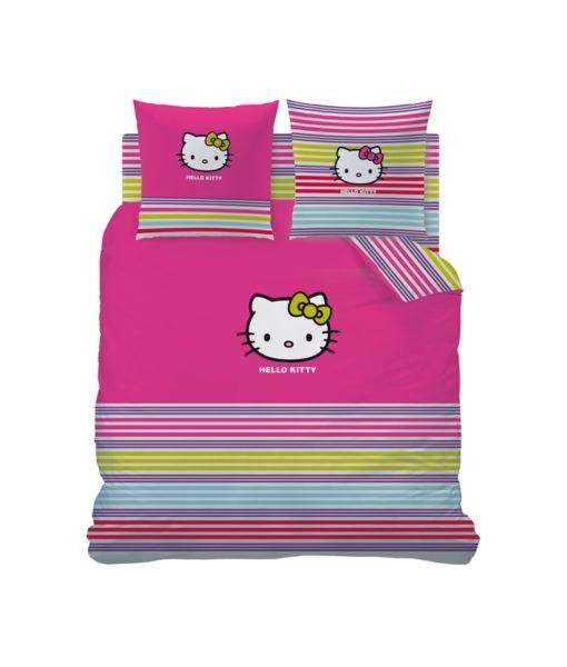 Parure de lit Hello Kitty Sarah Summer - 2 personnes 240x220 cm