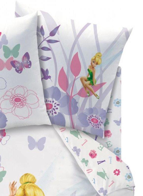 drap housse f e clochette disney 90x190 pour matelas. Black Bedroom Furniture Sets. Home Design Ideas
