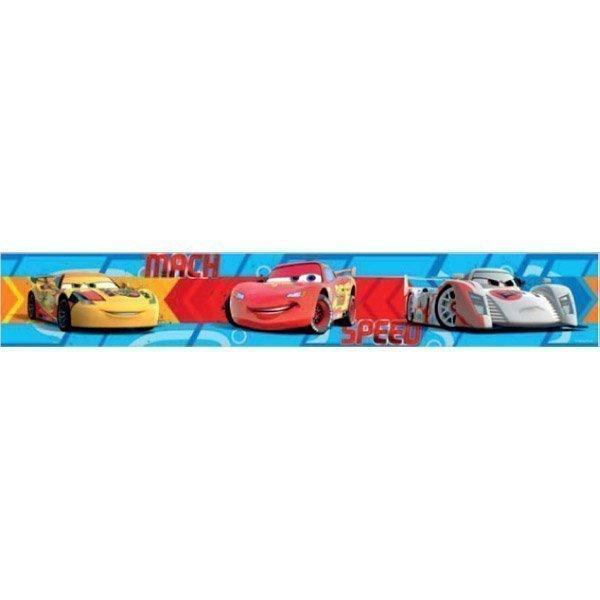 Frise murale cars pour d co chambre gar ons adh sive - Frise murale adhesive ...