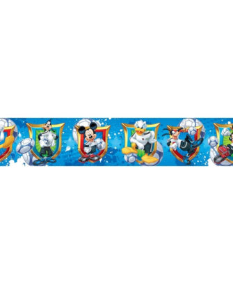 frise-murale-mickey-foot-bleue-2