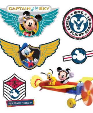 stickers-mickey-pilote