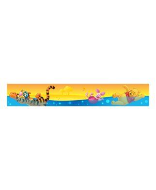 Frise murale adhésive Winnie l'ourson 10,6 cm x 5 mètres