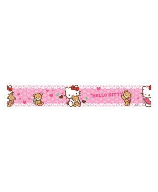 "Hello Kitty - Frise murale ""Doudou"" - 5m x 10,6cm"