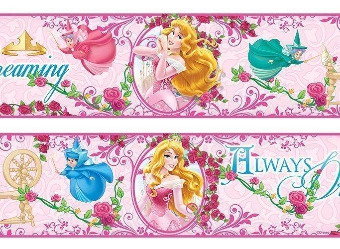 Frise murale la belle au bois dormant princesse aurore - Frise petit prince ...