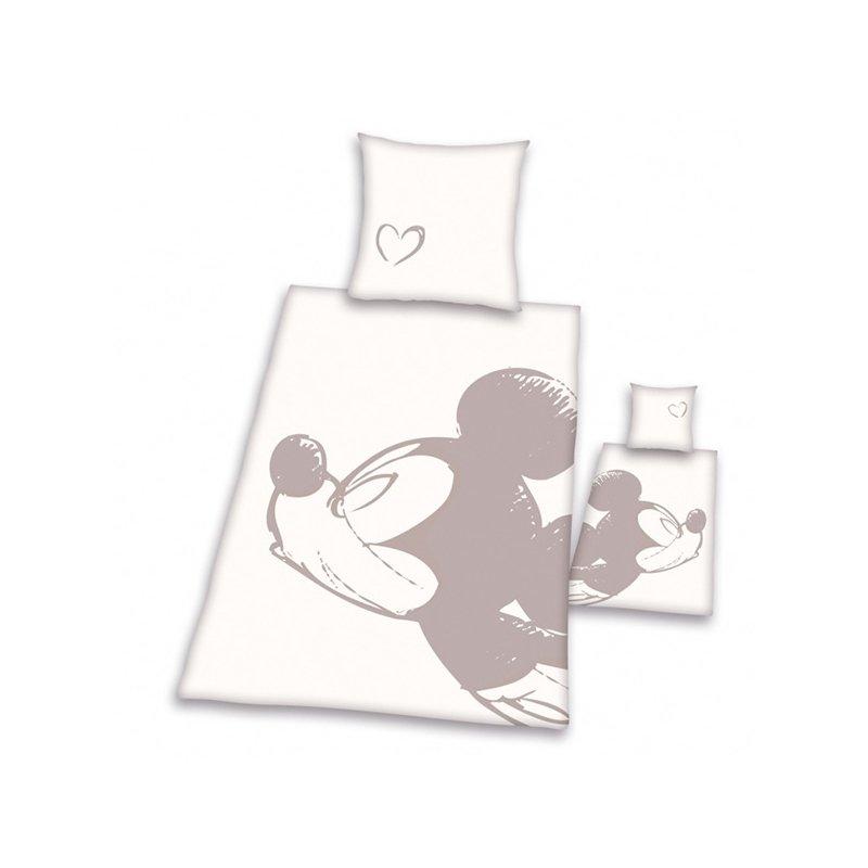 Couette Mickey Amour Saint Valentin Lit 1 Personne