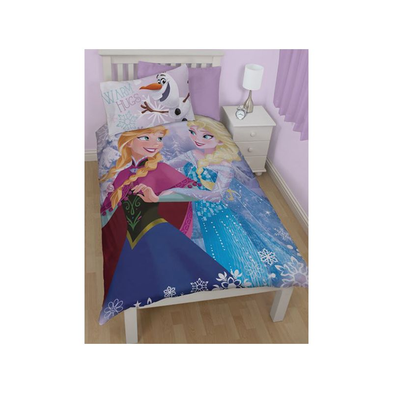 housse couette reine des neiges elsa anna. Black Bedroom Furniture Sets. Home Design Ideas