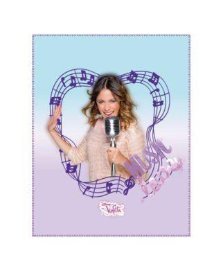 Couverture polaire Disney Violetta 120x140 cm