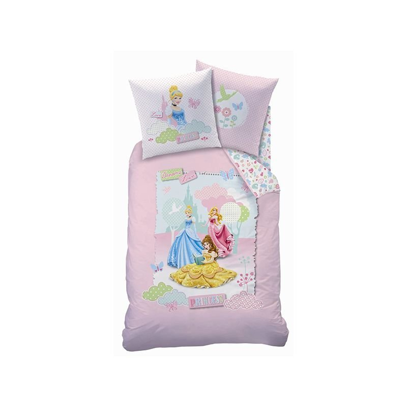 Housse couette princesse dreaming love 140x200 - Housse de couette princesse 140x200 ...