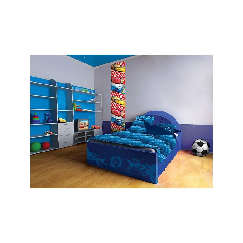 frise murale verticale cars disney papier peint. Black Bedroom Furniture Sets. Home Design Ideas