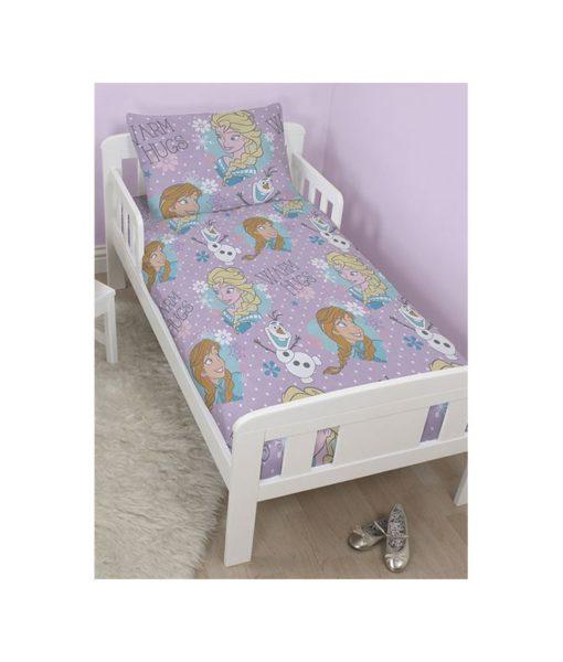"""Parure de lit Princesses Disney """"Sparkle"""" pour lit junior"""