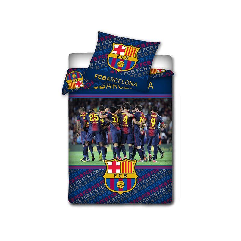 Couette quipe de football fc barcelone joueurs - Housse de couette barca ...
