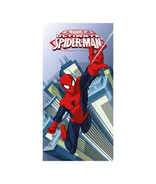 Drap de bain ou de plage Ultimate Spiderman 70x140 cm