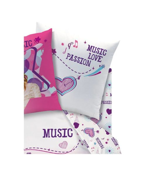 "Drap-housse Disney Violetta ""Baila"" - 90x190 cm"