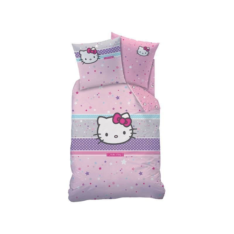 Hello kitty housse de couette taie 63x63 - Hello kitty housse de couette ...