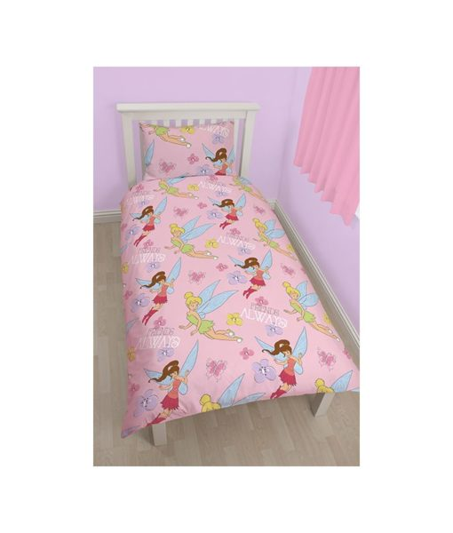 Housse de couette simple Disney Fairies Sweet