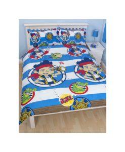"""Parure de lit Jake le Pirate """"Adventure"""" 140x200 cm"""