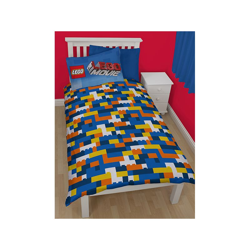 housse de couette lego avec taie pour lit enfant. Black Bedroom Furniture Sets. Home Design Ideas