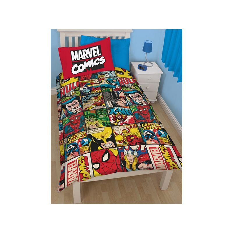 Housse Couette Marvel Comics 140x200 Cm
