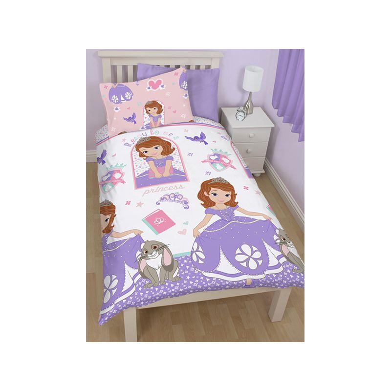 couette princesse sofia simple 140x200 pr matelas 90x190. Black Bedroom Furniture Sets. Home Design Ideas