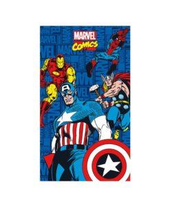 Drap de bain ou plage super-héros Marvel 75x150 cm